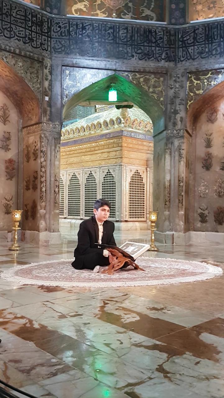 ضبط تلاوت های اذانگاهی از قاریان نوجوان مرکز قرآن وحدیث